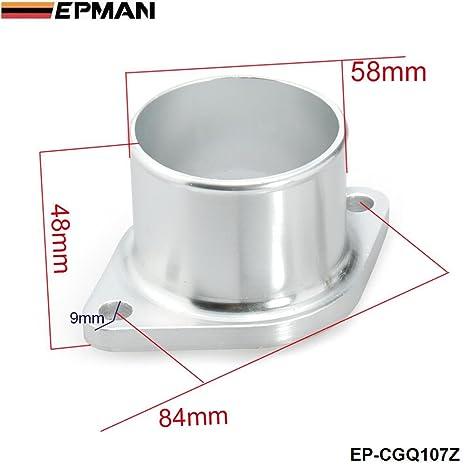 """epman Turbo Compresor adaptador de entrada Brida 2,5 """"Garrett para Nissan GT25"""