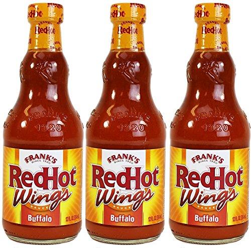 - Frank's RedHot Buffalo Wing Sauce, 12 oz, 3 pk