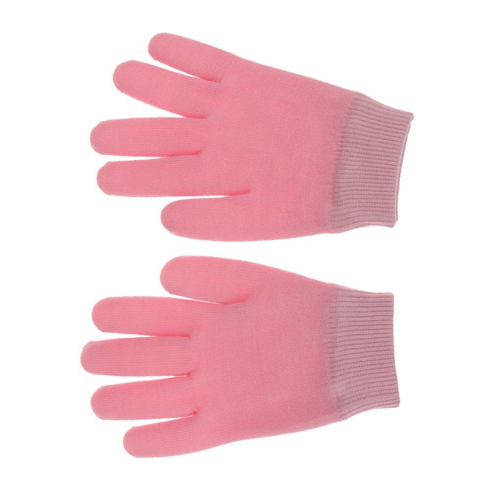 Spa De Belleza Cuidado De La Piel Del Gel Hidratante Guantes De Tratamiento De Terapia De Color Rosa Generic