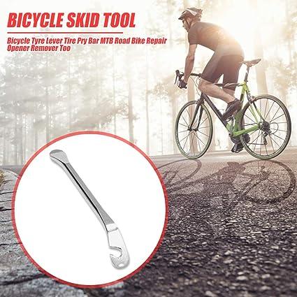 3 PZ Bicicletta Bici Pneumatici Leva Pneumatico FERRO cambiando Leve in acciaio al carbonio Strumento Di Riparazione
