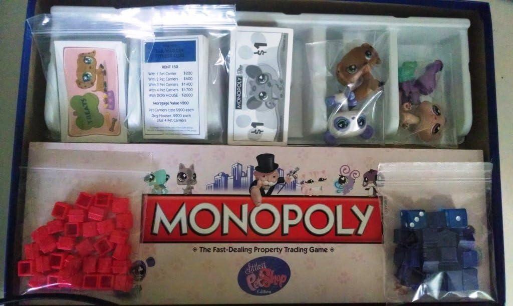 Monopoly Littlest Pet Shop: Amazon.es: Juguetes y juegos