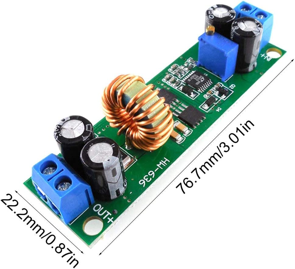 HW636 Spannungswandler 60V 48V 36V 24V 19V 12V 9V 5V 3V Adjustable Step-down-Stromversorgung Buck Stabilisator Reglermodul