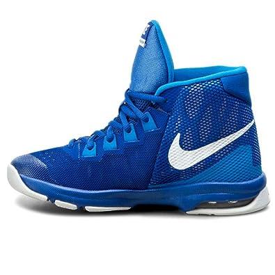 more photos 3be54 42def Nike Air devosion (GS), Chaussures de Basket-Ball pour Enfants, Game ...