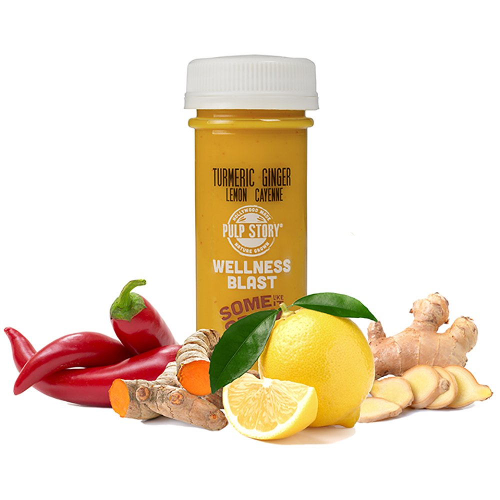 PULP STORY Some Like It Spicy Cold Pressed Turmeric Juice Wellness Shots, 2 Ounce Single Servings, 16 Count by PULP STORY (Image #4)