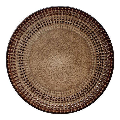 Pfaltzgraff Cambria Dinner Plate, 11-1/2-Inch, Brown - Cambria Dinner Plate