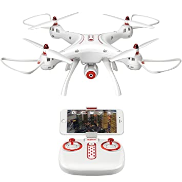 RC Quadcopter Drone WiFi FPV 720P HD Cámara Drone 2.4G 4CH 6-Axis ...