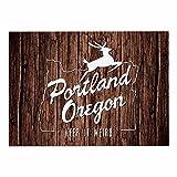 "Best Places Portlands - KESS InHouse Juan Paolo ""Keep it Weird"" Brown Review"