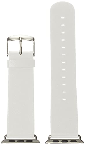4Your watch Unisex Armbanduhr Apple watch Mikrofaser Band 38 mm weiß 5425032330485