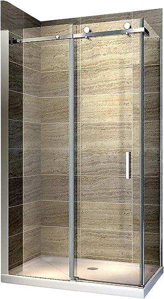 Cabina de ducha Nano 8 mm Cristal ex802 Puerta corrediza – 90 x ...