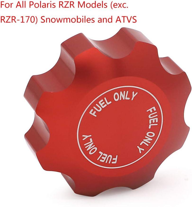 Alpha Rider Billet Tankdeckel F/ür alle Polaris RZR Modelle Schneemobile und ATVS ersetzen 5439075