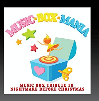 image unavailable image not available for color music box tribute to nightmare before christmas - Nightmare Before Christmas Music Box