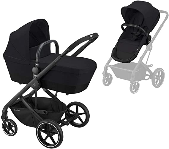 Cybex Gold Cybex Gold Balios S 2-In-1, Deep Black - 11500 g