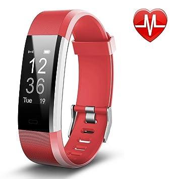 Bracelet Sport Activité Montre Connectée Avec GPS, NickSea Etanche IP67 Fitness Tracker dActivité