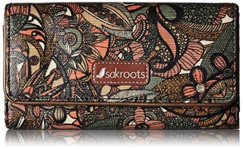Sakroots Megan Snap Trifold Wallet Wallet for sale  Delivered anywhere in USA