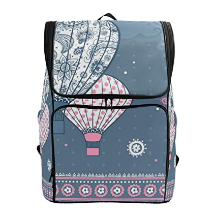 be36f20bb57f Amazon.com: Palace Hot Air Balloon Decorations Laptop Backpack for ...
