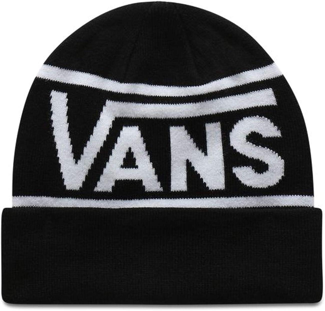 Vans Gorro (Beanie) Drop V Stripe Cuff Negro OSFA (Talla única ...