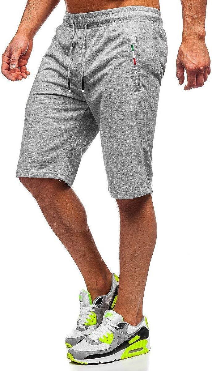 BOLF Pantalon Sportif Court pour Homme 7G7