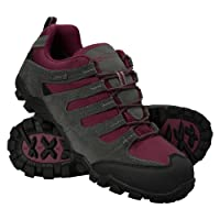 Mountain Warehouse Womens Walking Shoes - Lightweight Hiking Shoes, Breathable, Lace Up All Season Shoes - For Trekking, Gym & Running