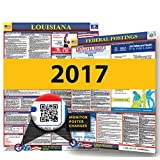 Osha4less Louisiana State and Federal Labor Law Poster (LA-CB)