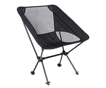 Silla de Camping portátil Silla Que acampa al Aire Libre de ...