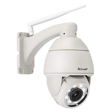 SRICAM SP008 WiFi IP Cámara de Vigilancia Inalámbrica Cámara de Seguridad con IR Vision Nocturna Movimiento
