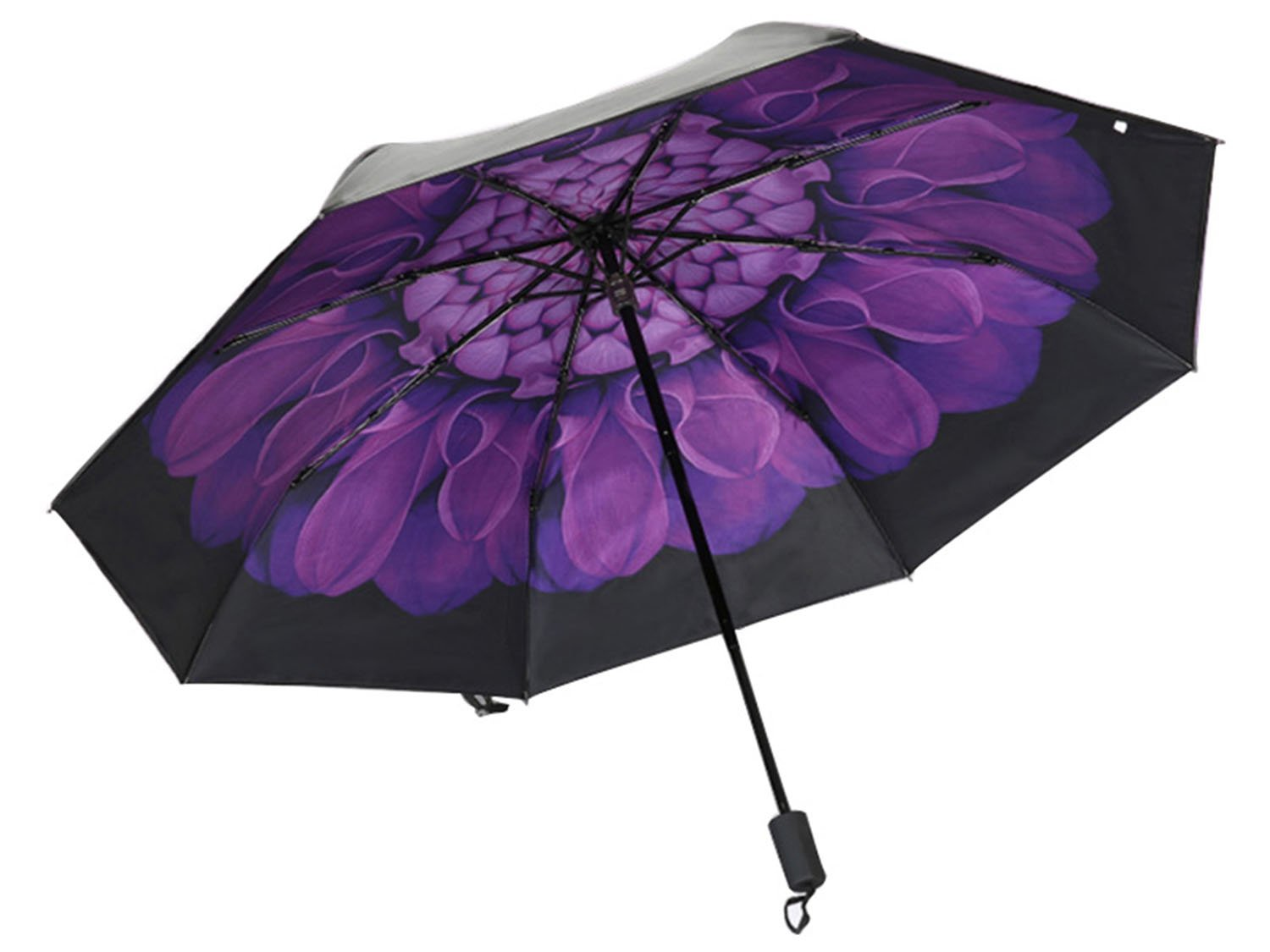 Amazon.com: Umbrella, Eddis Travel Umbrella Foldable Golf Umbrella with Sunscreen and UV Protection 9.8in Storage Length(Violet): Sports & Outdoors