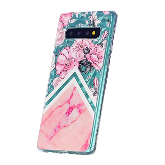 separation shoes 7b16c 934ad Amazon.com: Slim Phone case for Samsung Galaxy S10 +,Diamond Varnish ...
