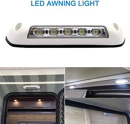 VISLONE Luces LED 12V DC Luz para Caravana Exterior a Prueba de ...