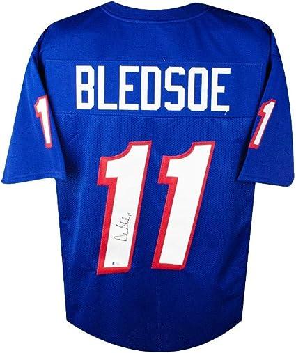 Drew Bledsoe Autographed New England