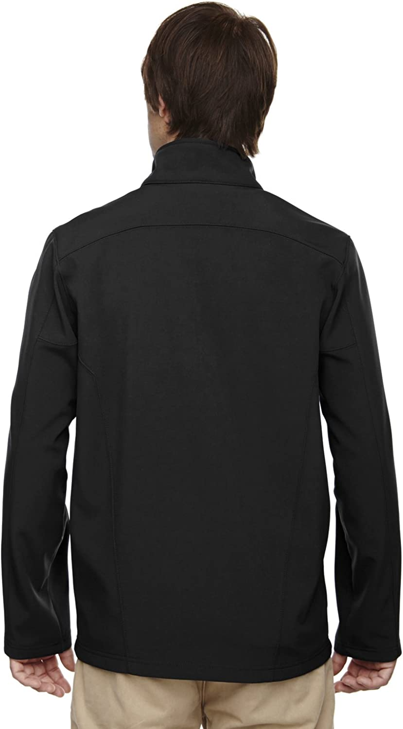 A Product of Ash City Core 365 Mens Cruise Two-Layer Fleece Bonded Soft Shell V
