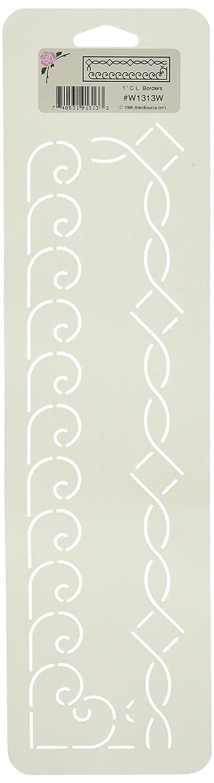 Sten Source Quilt Stencils-2 Border 6X18 W-1615