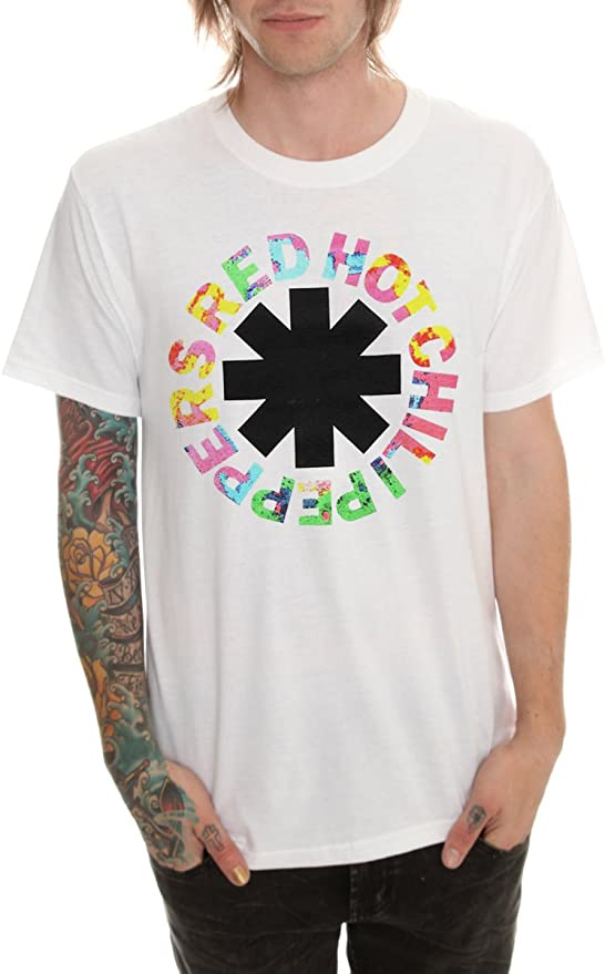 Red Hot Chili Peppers de Logo camiseta psicodélica: Amazon.es: Ropa y accesorios