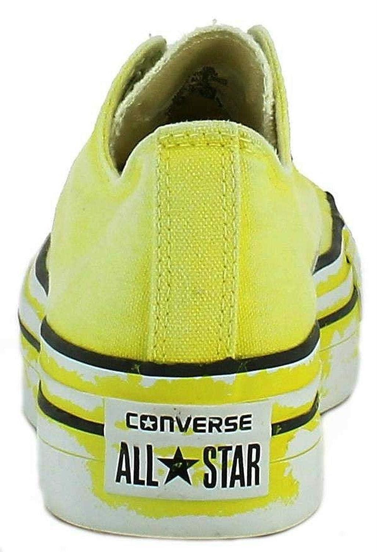 7f1e3f3ea5 Converse - Converse All Star Ox Platform Limited Edition Scarpe Sportive  Donna Gialle - Giallo, 39,5: Amazon.it: Scarpe e borse