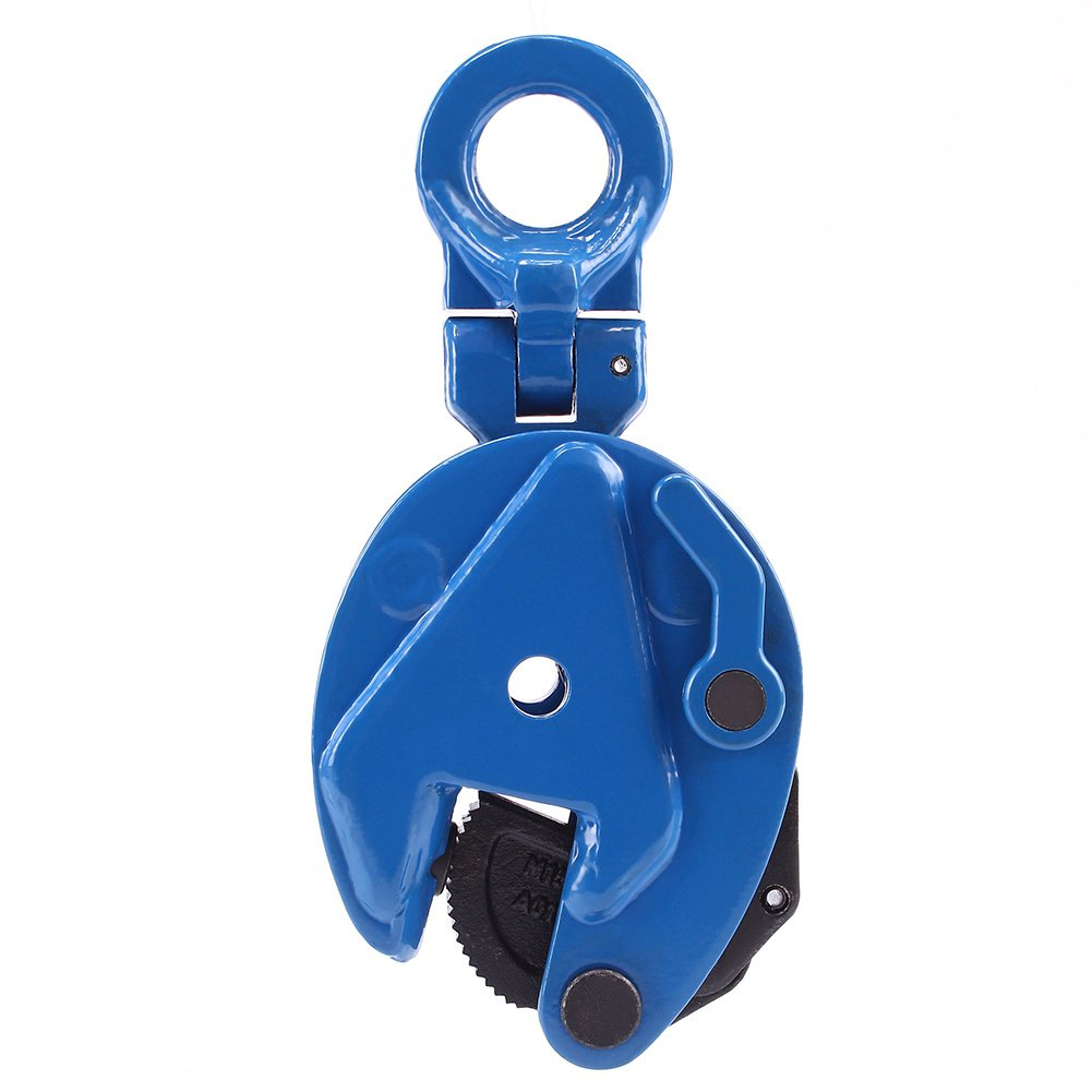Amarite Vertical Plate Clamp, 1760lbs Working Load Limit, Jaw opening up to 0.6''