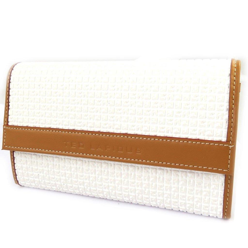 Wallet + checkbook holder 'Ted Lapidus' white.
