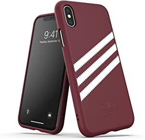 adidas OR Moulded Case Suede SS19 for iPhone X/Xs, Red 8718846064842