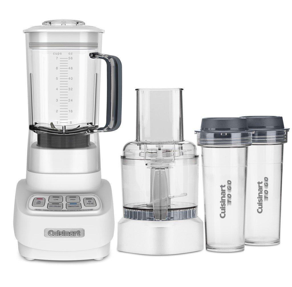 Cuisinart BFP-650W 1 HP Blender/Food Processor, White