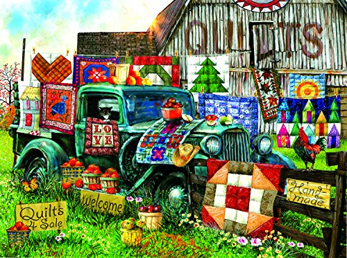 Quilts for Sale 1000 Piece Jigsaw Puzzle by SunsOut (Quilts For Colorful Sale)
