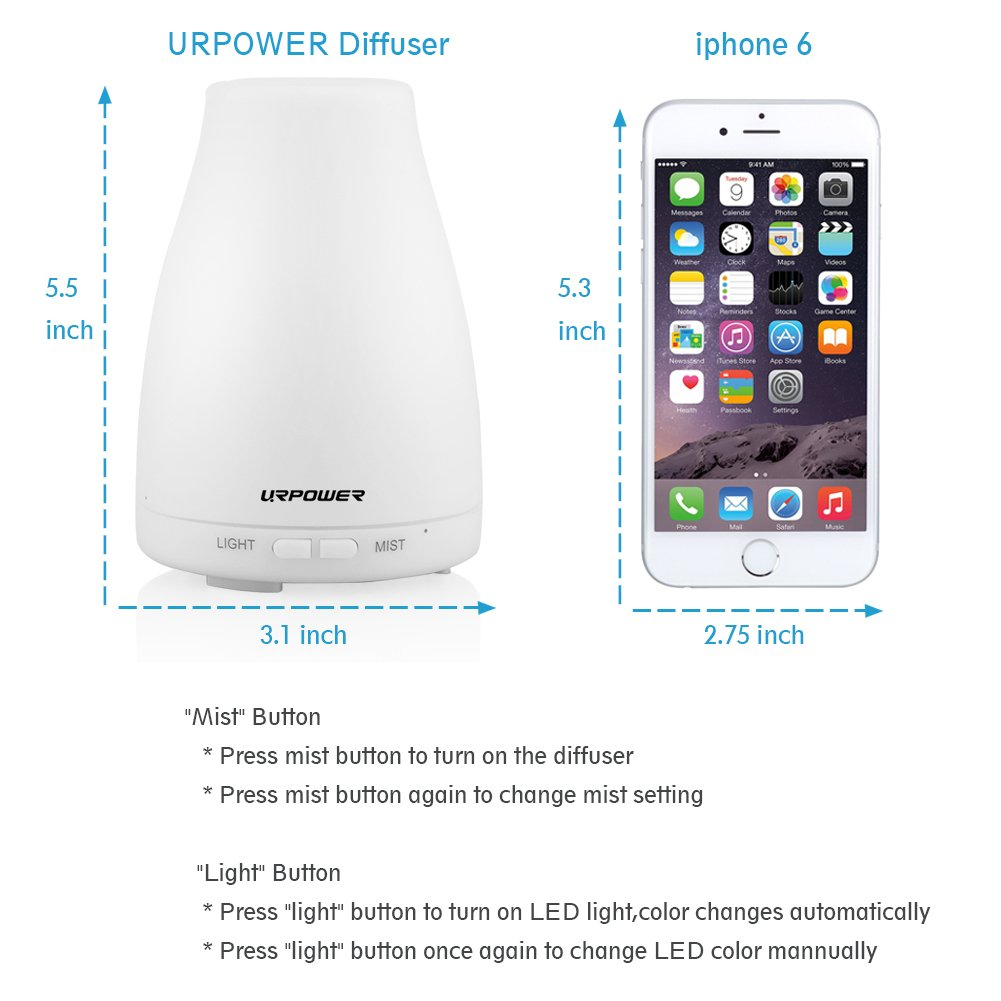 Urpower 2nd Version Essential Oil Diffuser Aroma Amazoncom Johnny 5 Is Alive Short Circuit Kid39s Tshirt Clothing Cool Mist Humidifier With Adjustable Mode Waterless Auto Shut Off And 7