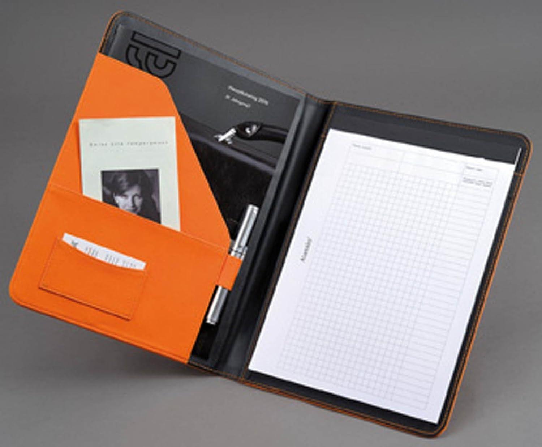 Alassio Messina Porte documents A4 Orange