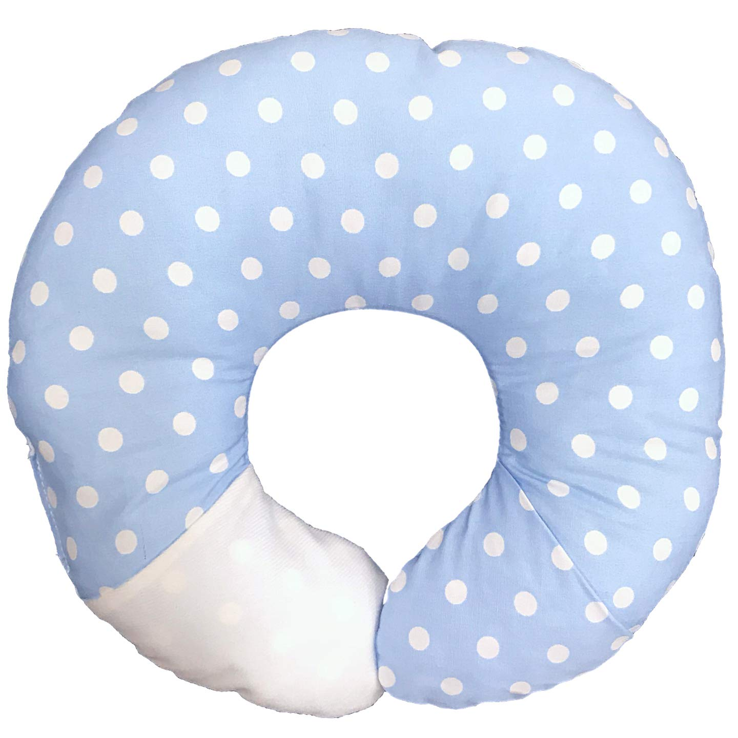 BabyMoon Pillow - For Head Support & Neck Support (Baby Blue) BM2000