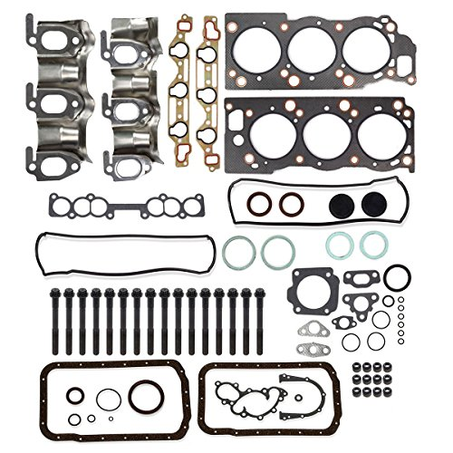 Pickup Cylinder Head Gasket - Cylinder Head Gasket Bolts kit Replacement For TOYOTA PICKUP 4RUNNER T100 3.0L 1988-1995