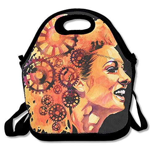 Wwe Kalisto Costume (Black Becky Lynch Wwe Unisex Lunch Bags For Woman Man Kid)