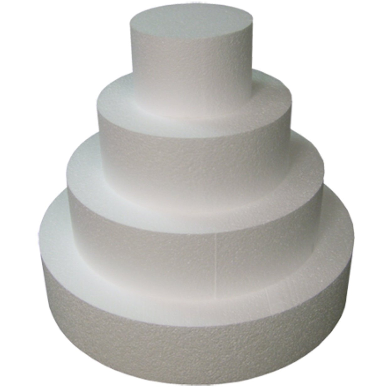 Amazon Round 4 Cake Dummies Set Of 4 Each 4 High By 6 8