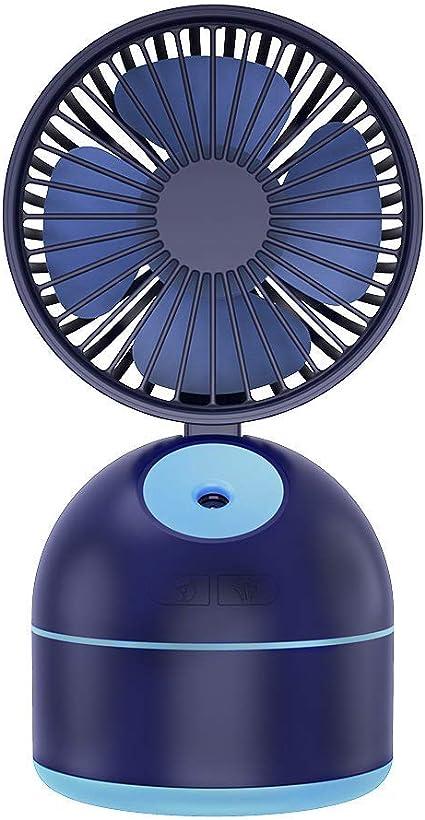 DOOT 2 en 1 humidificador pulverizador de agua mini ventilador ...