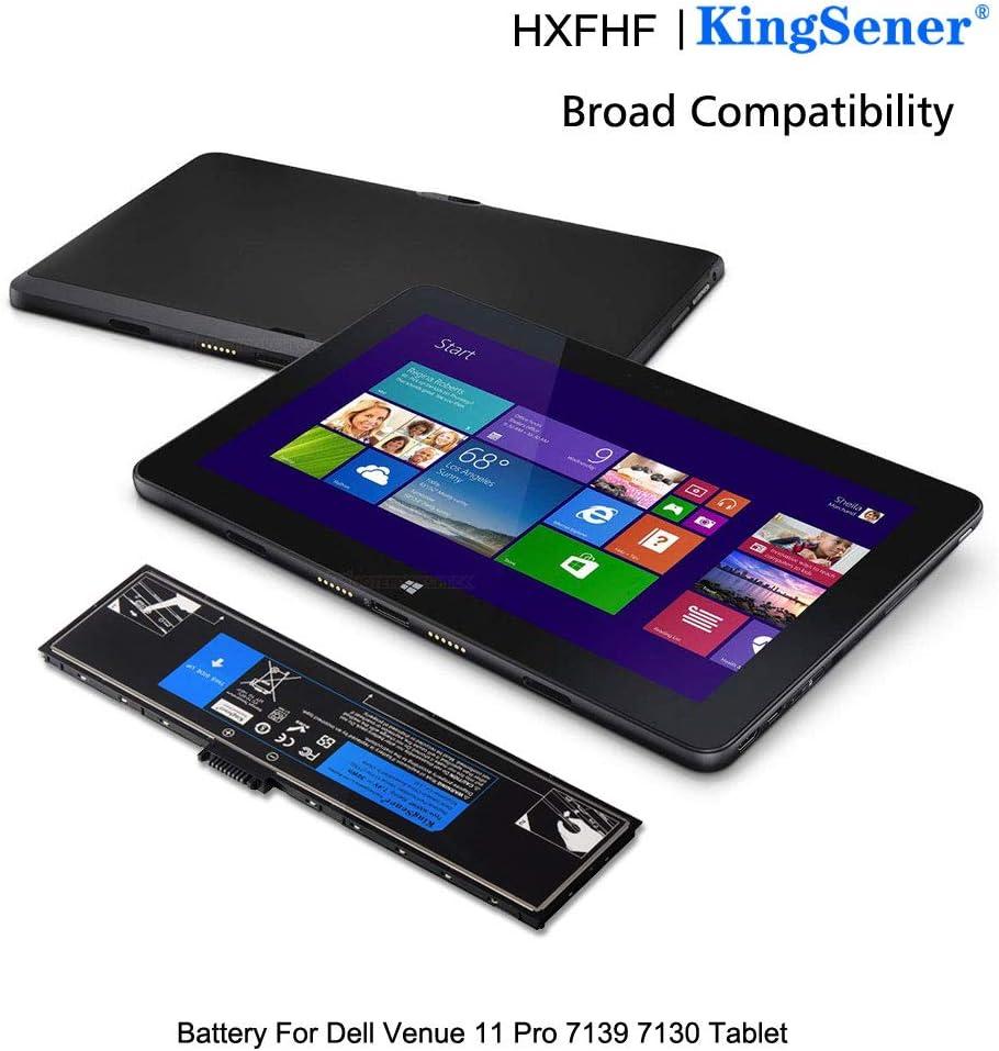 kingsener/® 7,4 V 36 WH hxfhf Akku f/ür Dell Venue 11 Pro 7130 Tablet vjf0 X hxfhf Bateria