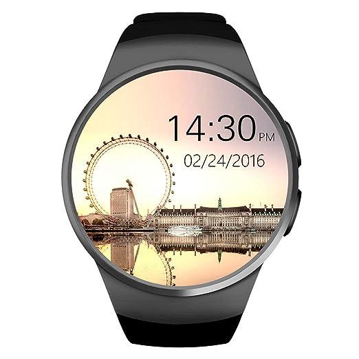 ZDY Smart Watch 1.3 Pulgadas IPS Pantalla táctil Redonda Teléfono ...