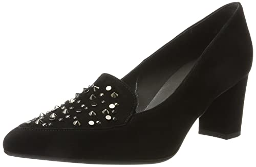 Womens Geneve Closed Toe Heels, Black, 8.5 UK Peter Kaiser