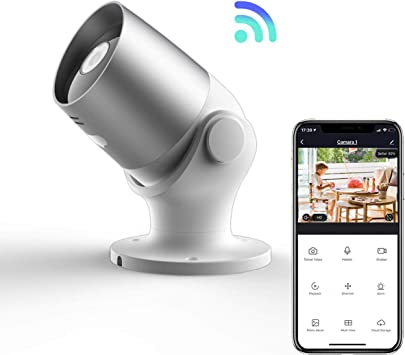 Cámara de Vigilancia Inteligente WiFi Exterior | Si Smart | 1080P HD | Impermeable IP65 |