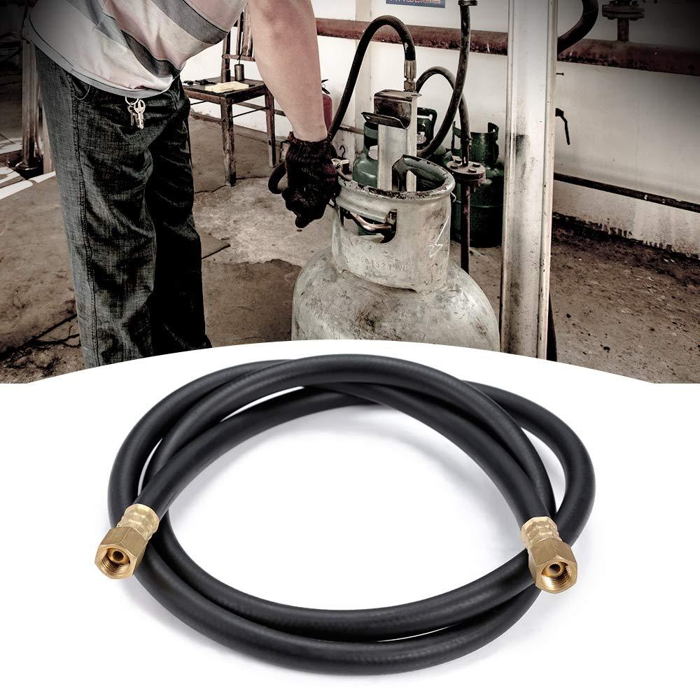 LIUYUNE,Tubo de conexión de Gas argón de 1,5 m para soldadora MIG/mag(Color:Negro): Amazon.es: Hogar